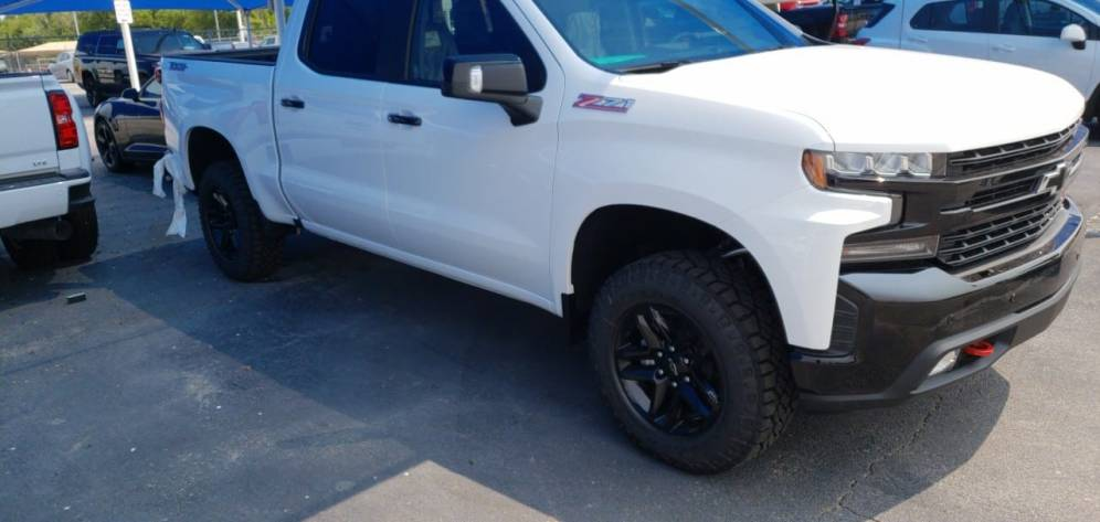 The All New 2019 Chevy Trail Boss Has Arrived At James Wood Decatur